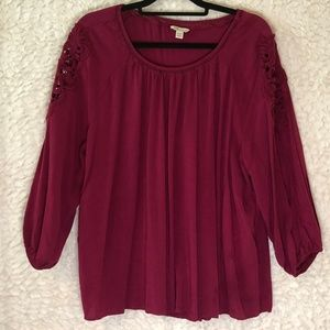 Cato Fushsia Pink Top Size 22/24